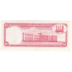 TRINIDAD 1 DOLLAR 1964 SUP+
