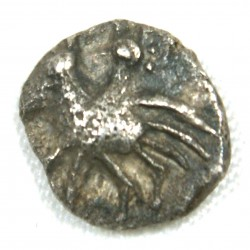 Gauloise - Provence Obole Hippalectryon à gauche cavalier 500-460 BC