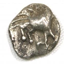 Gauloise - Provence Obole Hippalectryon à droite 500-460 BC
