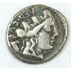 République Romaine - Denier Furia 84 AC