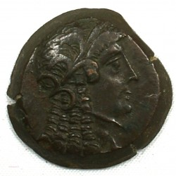 ROYAUME LAGIDE - PTOLÉMÉE VI (Cléopatre I) 180-176 BC