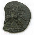 Monnaie Gauloise de NÎMES bronze au sanglier NAMA SAT