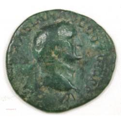 Romaine - As VESPASIEN R/Judée assise , 77-78 AC
