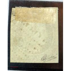 1849 - 1850 Céres n°1 - 10c bistre, belles marges, signe Calves