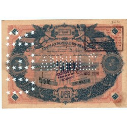 Billet de 500 Annulé d' Union Economique Rouannaise 1939