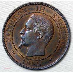 NAPOLEON III - 10 Centimes 1852 A Paris SPL/FDC