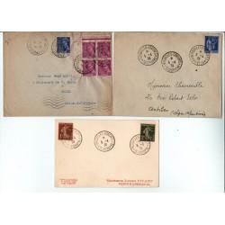 série ES1 - Entier postaux 90 C La conciergerie avec légende