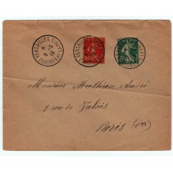 Enveloppe Versailles Congrès de la paix 28 6 1919