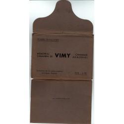 Série J1 S1- Entier postaux 50 C Mémorial Canadien de Vimy et pochette
