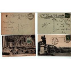 lot de CPA  Congrès de Versailles Élection Millerand 23 9 1920