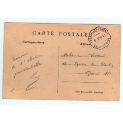 rare cachet VERSAILLES CONGRES S.-ET-OISE 17 - 1913 de l' élection R.Poincaré