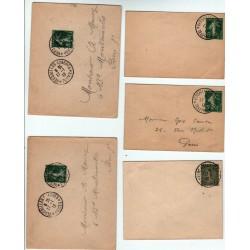lettres cachet Téléphone VERSAILLES CONGRES 17 1 1913 de l' élection R.Poincaré