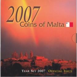 Série en Euros Coffret 8 Pièces Malte BU 2007