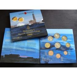 Coffret BU Finlande 2006, 8 pièces + 2€ commémo