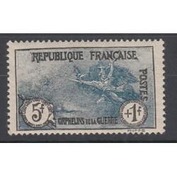 TIMBRES N°229/232 ANNEE 1926/27 ORPHELINS DE LA GUERRE NEUF** SIGNES COTE 590 Euros