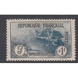 TIMBRE N°232 ANNEE 1926 ORPHELINS DE LA GUERRE NEUF** TBC Côte 450 Euros