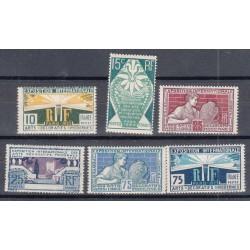 TIMBRES N°210/215 ANNEE 1925 EXPO DES ARTS DECORATIFS NEUFS** Côte 60 Euros