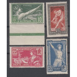 TIMBRE TYPE MERSON N°208 /ANNEE 1925 NEUF Signé Calvès Côte 230 Euros