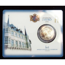 Blister, Coincard LUXEMBOURG 2 euro 2006  Luxemboug
