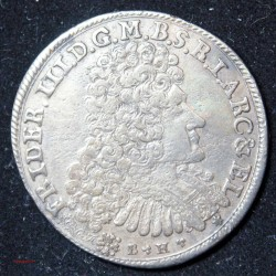 ALLEMAGNE - 1691 Germany BRANDERBURG FRED.III 2/3 Thaler