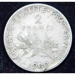 NAPOLEON III - 2 Francs 1869 BB STRASBOURG