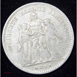 Hercule- 5 FRANCS 1878 K Bordeaux