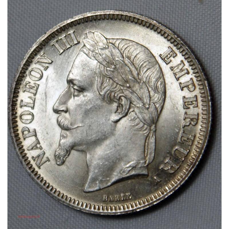 NAPOLEON III - 2 Francs 1868 A Paris qualité