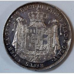 ITALIE - 5 Lire 1815 Marie Louise, Milan