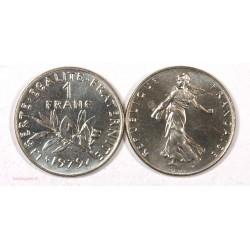 Moderne France 1 Franc 1979 Sortie de rouleaux