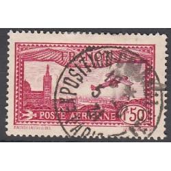 TIMBRE POSTE AERIENNE N°5 Oblitéré Exposition Paris