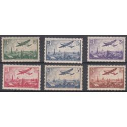 TIMBRES POSTE AERIENNE N°8 à N°13 - 1936 - NEUF* Côte 170 Euros