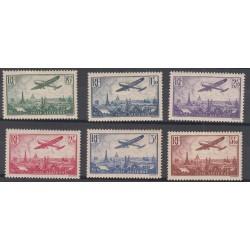 TIMBRES POSTE AERIENNE N°8 à N°13 - 1936 - NEUF** Côte 300 Euros