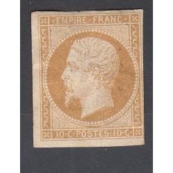 TIMBRE NAPOLEON N°13B - 10 C. Neuf* signé Calvès