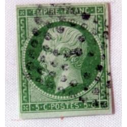 Timbre  5 C. N°12 Napoléon III