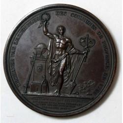 Médaille Charles Jean Batisde DES GALOIS de la tour de GLENÉ 1788