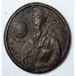 Médaille religieuse Montserrat Rome du XVIIIe