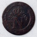 Faux 10 centimes à L'N couronné 1810 BB