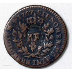 Louis XV - Sol 1767 RF, Colonies Françaises
