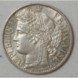 CERES - 1 Franc 1872 A (petit) Paris