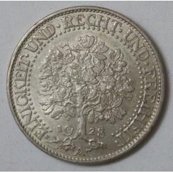 Allemagne - République de Weimar 5 reichsmark 1928 A