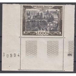 TIMBRE POSTE AERIENNE N°29 NEUF* Coin de feuille 1950 Côte 165 Euros