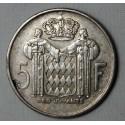 MONACO - 5 Francs 1960 - RAINIER III