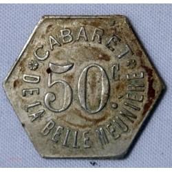 JETON Algérie - 10 cents. Chambre de commerce de bougie 1915