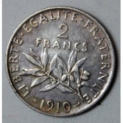 SEMEUSE - 2 FRANCS 1910 TTB