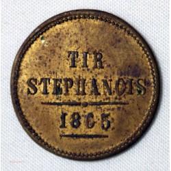 Jeton tir stephanois 1865