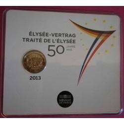 BU 2 euro Commemorative 2013 - 50e Anniversaire du traité de l' Elysée