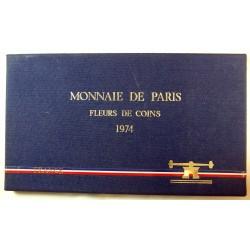 Coffret 1974, Fleurs de Coins