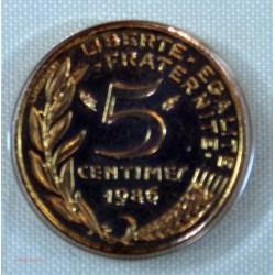 FDC - 5+10+20 et 50 centimes 1986 issu du coffret neuve/scellée