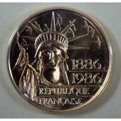 FDC  - 2 x 100 francs 1986 issu du coffret neuve/scellée