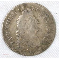 Louis XIV - 4 sols aux 2 L 1693 D Lyon